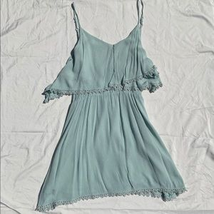 Charlotte Russe Mint Colored Dress